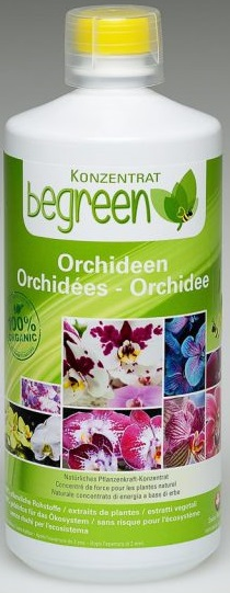 Organic fertilizer for orchids