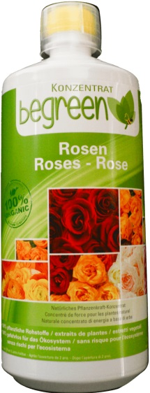 Organic fertilizer for roses