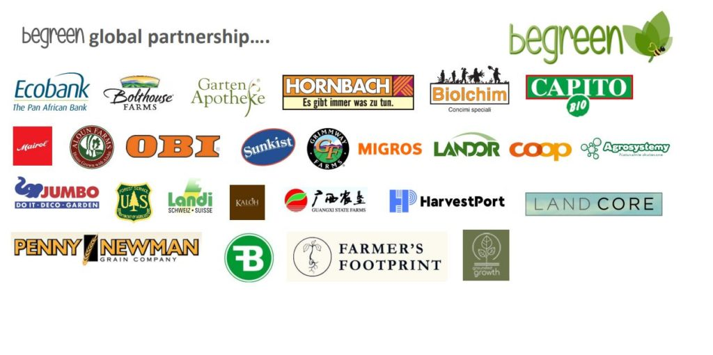 Begreen Partnerships